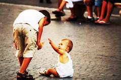 on the scene (prex79) Tags: rome roma kids canon eos400d 55250 equalizza