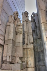 The Founders of the Bulgarian State Monument (Klearchos Kapoutsis) Tags: monument bulgaria shumen         1300yearsbulgarianstate thefoundersofthebulgarianstate 1300