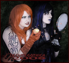 Pride and Lust (Dave Charsley) Tags: apple mirror goth pride lust declinegothica charsley sevendeadlysins marvada rozethorn gothicculture