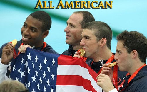 OLY-2008-SWIMMING-FREESTYLE-RELAY-PODIUM