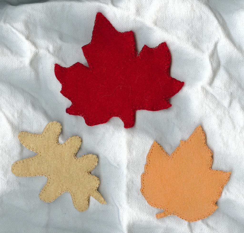 Autumn Leaves for Nature Table or Dramatic Play