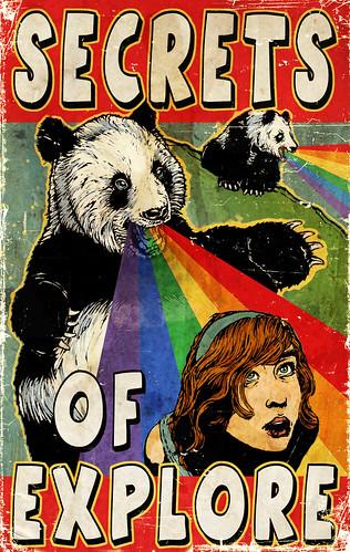 Panda vomita arco iris 2
