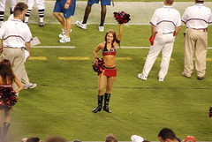 PreseasonBucsVsPats-0060 (awinner) Tags: game football cheerleaders stadium nfl cheerleader 2008 raymondjamesstadium preseason tampaflorida tampabaybuccaneers newenglandpatriots august2008 august17th2008