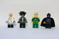 DC Supervillain Minifigs - Wave 5