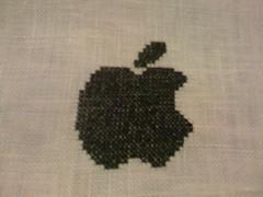 "iStitch (""francesca"") Tags: apple mac crossstitch iphone"