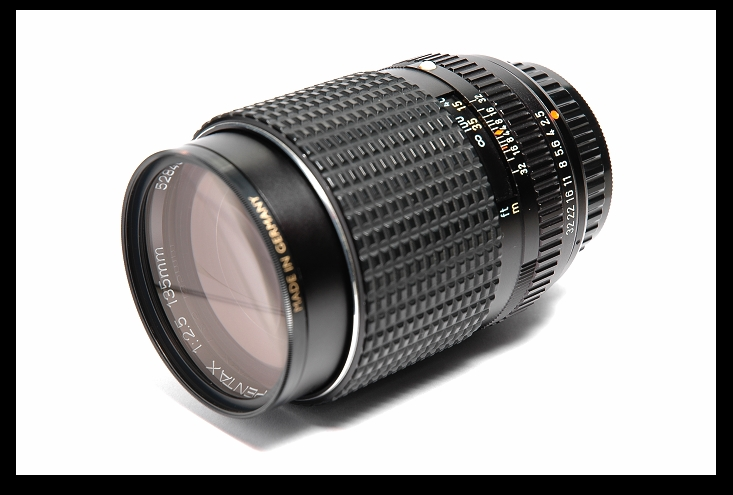 SMC PENTAX 135mm f2.5 前期鏡頭