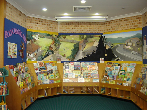 Book Week Display at Engadine Library