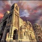 cathedrale de la Major in Marseille city