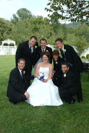 me with groomsmen