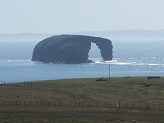 Dore Holm Close Up (Queenbie) Tags: coast rocks shetland northmavine doreholm