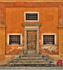 The Orange Chapel (Fabio Montalto) Tags: door orange window facade ancient chapel soe stairsteps nikond200 supershot hdrfromasingleraw golddragon mywinners abigfave platinumphoto anawesomeshot colorphotoaward aplusphoto diamondclassphotographer theunforgettablepictures colourartaward elitephotography theperfectphotographer goldstaraward rubyphotographer damniwishidtakenthat wagman30