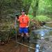 low flow discharge measurement, redland creek below u.s. highway 29, lawrenceville, gwinnett county, georgia, gary holloway 1