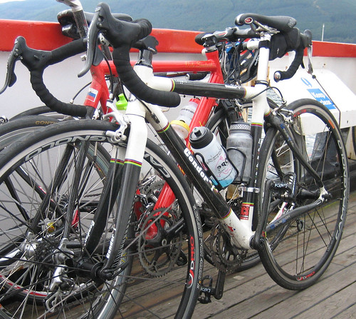 Cycles on the ferry