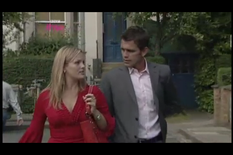 Eastenders on my iPhone