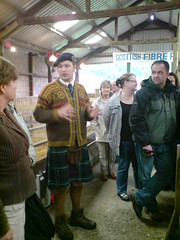 Gregor talks about farming in Scotland 2008