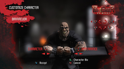 Punisher Barracuda Character