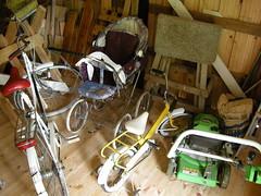 Summer Cottage (Kesmkki) Near Luvia, Finland (DG Jones) Tags: holiday bicycle finland tricycle pram mkki kes kesmkki lawnmover luvia satakunta westernfinland keslahti