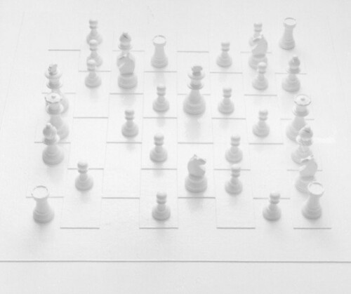 Play It By Trust / White Chess Set by you.