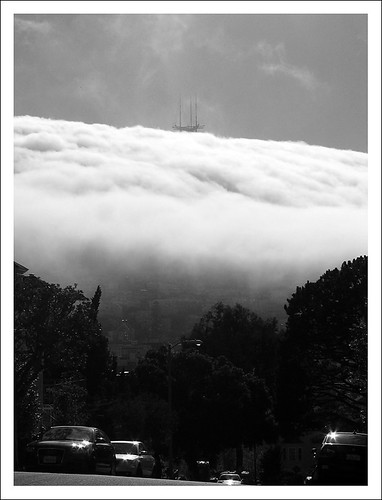 Fog over Mt. Sutro