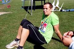 V cíli prvního maratonu
