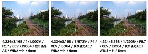 Nikon Coolpix P6000 sample photos at dc.watch.impress.co.jp