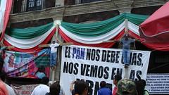 CNTE Morelos crucifixion accion 1