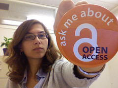 Ask Me About Open Access by mollyali