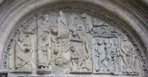 Santiago de Compostela. Cathedral. tympanum by ajhammu0.
