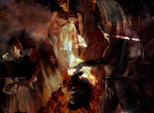 Homage to Mad Men - Giordano Bruno by smallislander, on Flickr