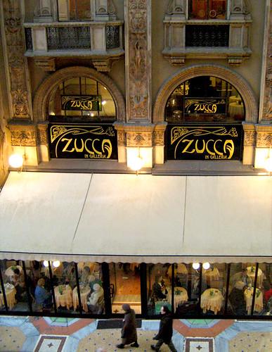Caffè Zucca in Galleria a Milano