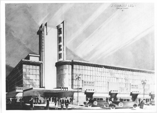 Department Store conceptual drawing