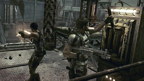 Resident Evil 5 palanca