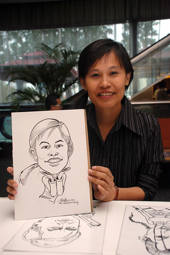 Caricature live sketching for IMEH - 1