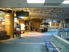 冷清的溫哥華機場