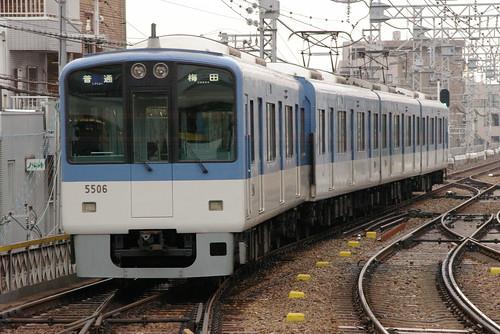Hanshin5500series in Mikage,Kobe,Hyōgo,Japan 2008/12/21