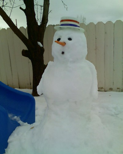 Snowman by Ty and Tony