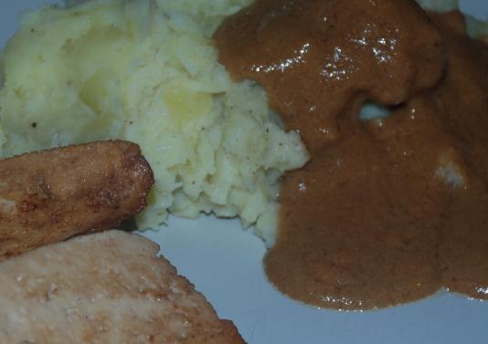 beige food