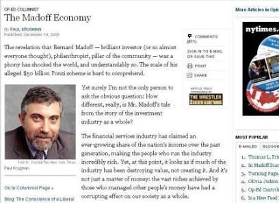 馬多夫效應,華爾街其實比恐怖份子還可怕…-三十而慄