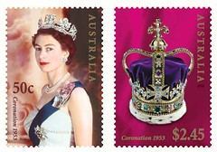 Queen Elizabeth II, Queen of Australia (royalist_today) Tags: 2003 elizabeth post mail stamps queen stamp monarch reine royalty monarchy throne elizabethii 1953 coronation queenelizabeth sovereign australiapost königin queenelizabethii koningin australianqueen queenofaustralia