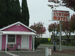 Cynthia's Motel (cozy22) Tags: california madera motel littlepinkhouses vintagemotelsigns