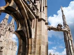 Sobre el Duomo (Yure y Maureen) Tags: milano miln