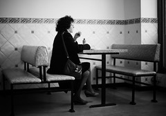 Quiet Moment (Jason Dale (Over 1.3 Million Hits And Coutning)) Tags: fish wales lady candid chips lone barmouth dapagroupmeritaward3