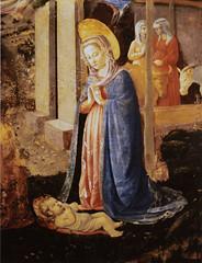 Philadelphia Museum of Art, nativity (groenling) Tags: santa ass philadelphia saint museumofart maria bue mary jesus birth ox nativity asino nativitas