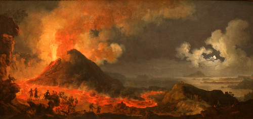 The eruption of vesuvius jacques antoine volaire by opacity