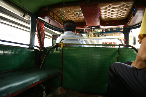 Inside the Jeepney