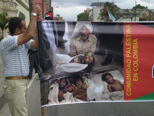 Marcha apoyo a Palestina / Gaza en Bogotá, Colombia - 20090106 - 1061715