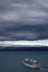 Storm Coming (catspyjamasnz) Tags: cruise sea newzealand storm weather clouds port bay stormy nz cruiseship napier stormclouds hawkesbay cruiseships cruiseliner liners hawkes portofnapier