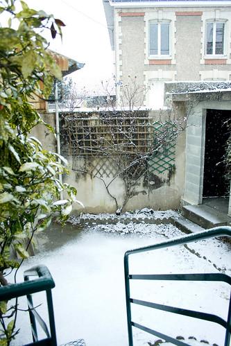 Il a neigé sur Tours 2
