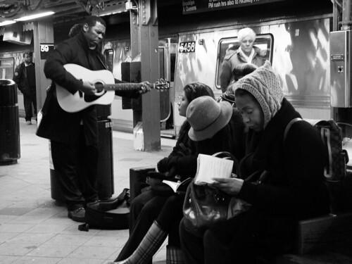 Underground Singer, NYC