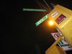 Cross streets (kittiegeiss) Tags: outside desire thehappycorp ifiwerepresident likemagnets ovalofficehappyhour letsmakenewfriends